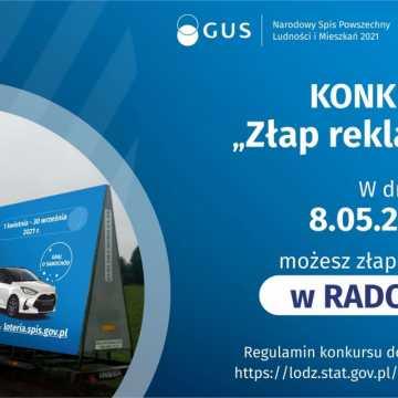 """W sobotę w Radomsku """"złap reklamę"""" Narodowego Spisu Powszechnego"""