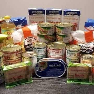 Wydawanie żywności w sierpniu