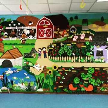 Przedszkole Skrzat ma ścianę sensoryczną