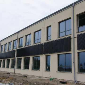 Trwa rozbudowa szkoły w Łękińsku