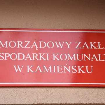 Kamieńsk: zakład komunalny oraz MOPS zamknięte