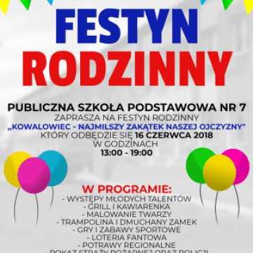 PSP nr 7 zaprasza na Festyn Rodzinny