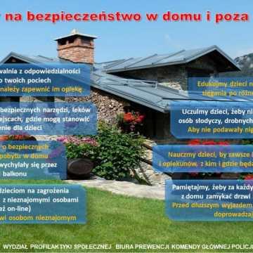 Bezpieczeństwo w domu i poza domem