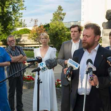 Minister zdrowia Łukasz Szumowski o wypadku w Bogusławicach
