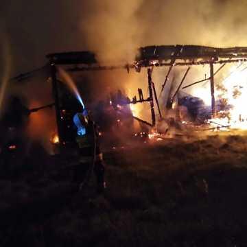 W Włynicach spłonęła stodoła