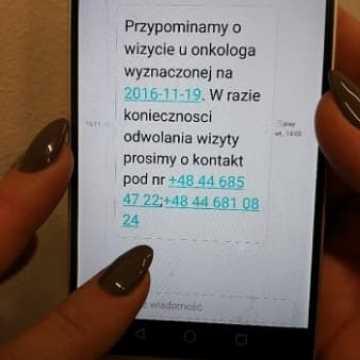 SMS przypomni o wizycie u lekarza specjalisty