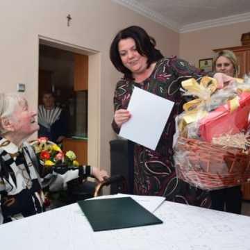Pani Zofia obchodziła 100 lat