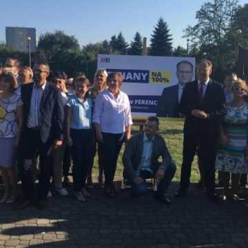 Jarosław Ferenc startuje z kampanią wyborczą