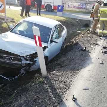 Wypadek w gminie Kodrąb. Są ranni