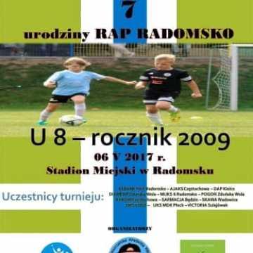 7. piłkarskie urodziny RAP Radomsko
