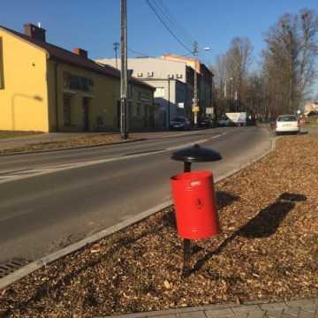 W Radomsku pojawiły się nowe kosze na śmieci