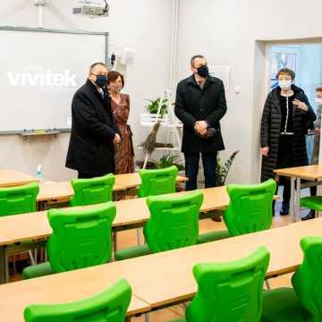 Łódzki Kurator Oświaty z wizytą w Bełchatowie