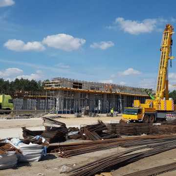 Wstrzymywanie ruchu na budowie A1 na odcinku Piotrków-Kamieńsk
