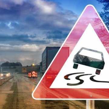 11 kolizji drogowych z powodu pogorszenia pogody