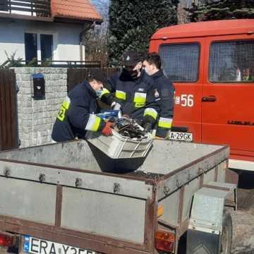 Strażacy z OSP Sucha Wieś podsumowali akcję zbiórki złomu