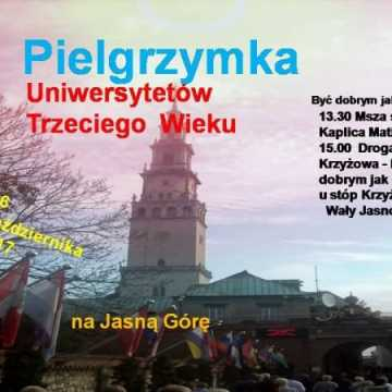 Pielgrzymka studentów UTW na Jasną Górę