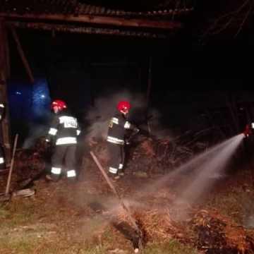 Złapano podpalaczy stodoły