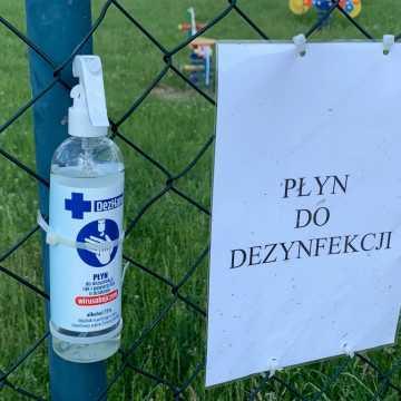 Nie zabierać płynów do dezynfekcji