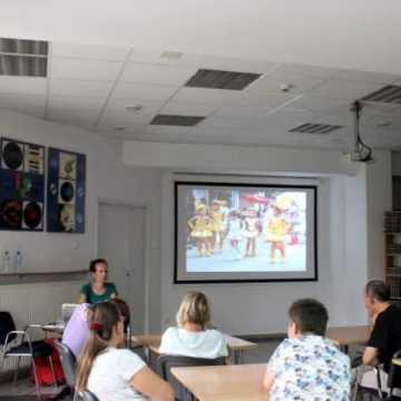Spotkanie z globtroterką Marzeną Filipczak w Bibliotece w Radomsku