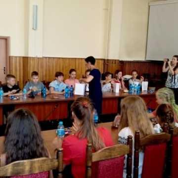 Spotkanie dzieci i młodzieży z Ukrainy z prezydentem Jarosławem Ferencem