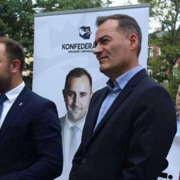 Konfederacja Wolność i Niepodległość przedstawia kandydatów do sejmu z Radomska