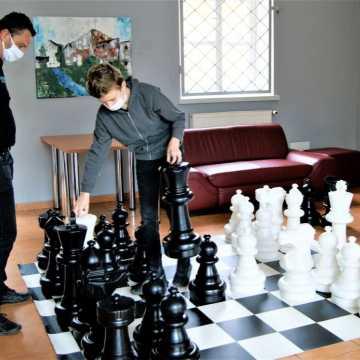 Spotkanie z szachami w muzeum w Radomsku