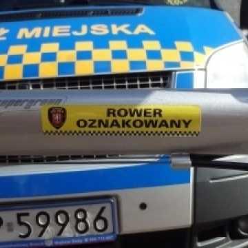 Piotrków Tryb.: Straż Miejska oznakuje rowery
