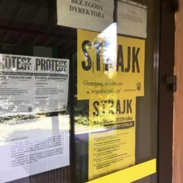 Strajk nauczycieli w Radomsku. W szkołach i przedszkolach pustki