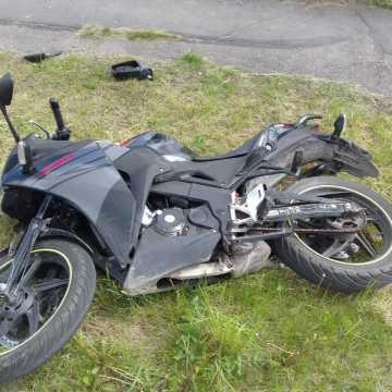Zderzył się z motorowerem kierowanym przez 18-latka
