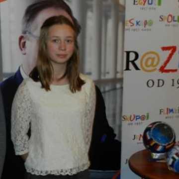 Weronika Zarębska w nagrodę pojedzie do Brukseli