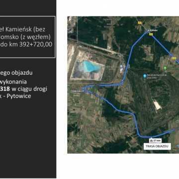 Zamkną 17 kilometrowy odcinek  DK1 Kamieńsk - Radomsko
