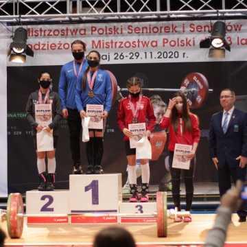Oliwia Drzazga z UMLKS Radomsko mistrzynią Polski w podnoszeniu ciężarów
