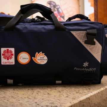Respirator od Caritasu dla szpitala w Radomsku