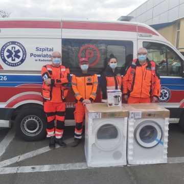 Sprzęt od firmy Bosch dla ratowników medycznych z Radomska