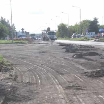 Zakaz ruchu na remontowanym skrzyżowaniu w Radomsku