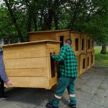 Nowe budy dla zwierząt w radomszczańskim schronisku