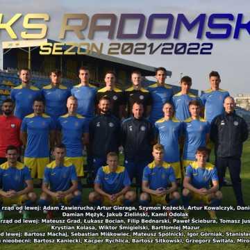 Kadra RKS Radomsko na rundę jesienną 2021