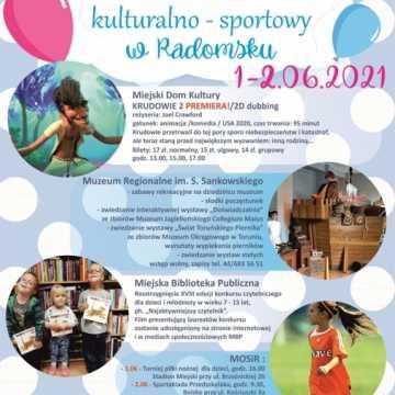 Kulturalno-sportowy Dzień Dziecka w Radomsku