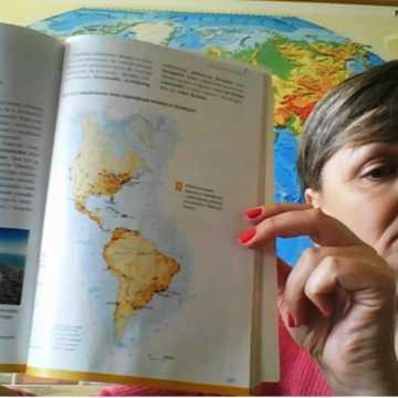 Biedronka na globusie. Czyli geografia da się lubić