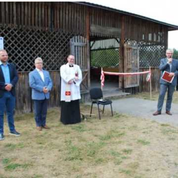 Uroczyste otwarcie zbiornika wodnego w Kozim Polu