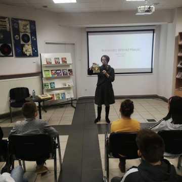 Wykład o Witoldzie Pileckim w Miejskiej Bibliotece