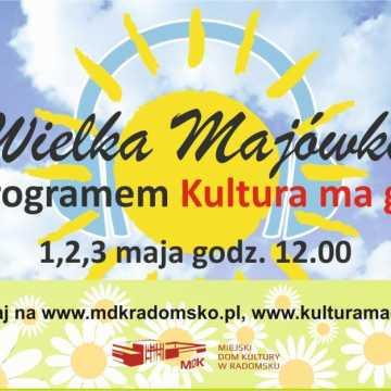 """Wielka Majówka z programem """"Kultura ma głos"""""""