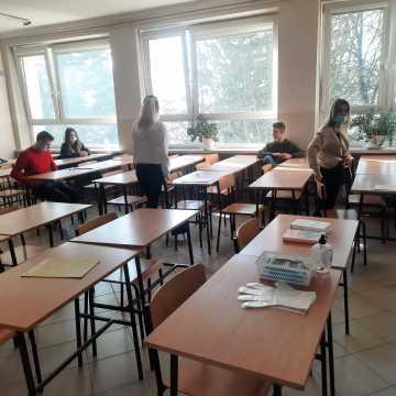 Próbne matury w Radomsku
