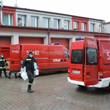 2 tys. litrów środków dezynfekcyjnych trafiło do szkół i przedszkoli w pow. radomszczańskim