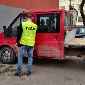 Ukradli samochód i narzędzia z budowy autostrady A1