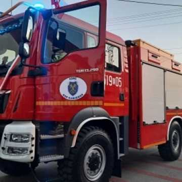 [WIDEO] Nowy wóz strażacki w garażu druhów OSP Kamieńsk