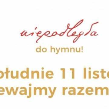 Zaśpiewajmy wspólnie hymn