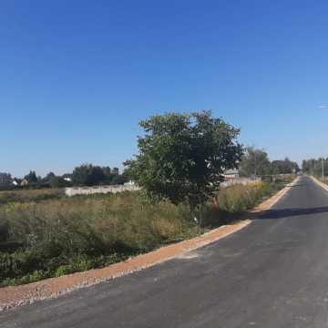 Ulica Parkowa: asfalt zamiast tłucznia