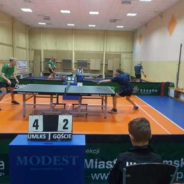 Wygrana tenisistów stołowych UMLKS Radomsko