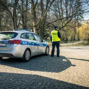 Praca policjantów w dobie pandemii
